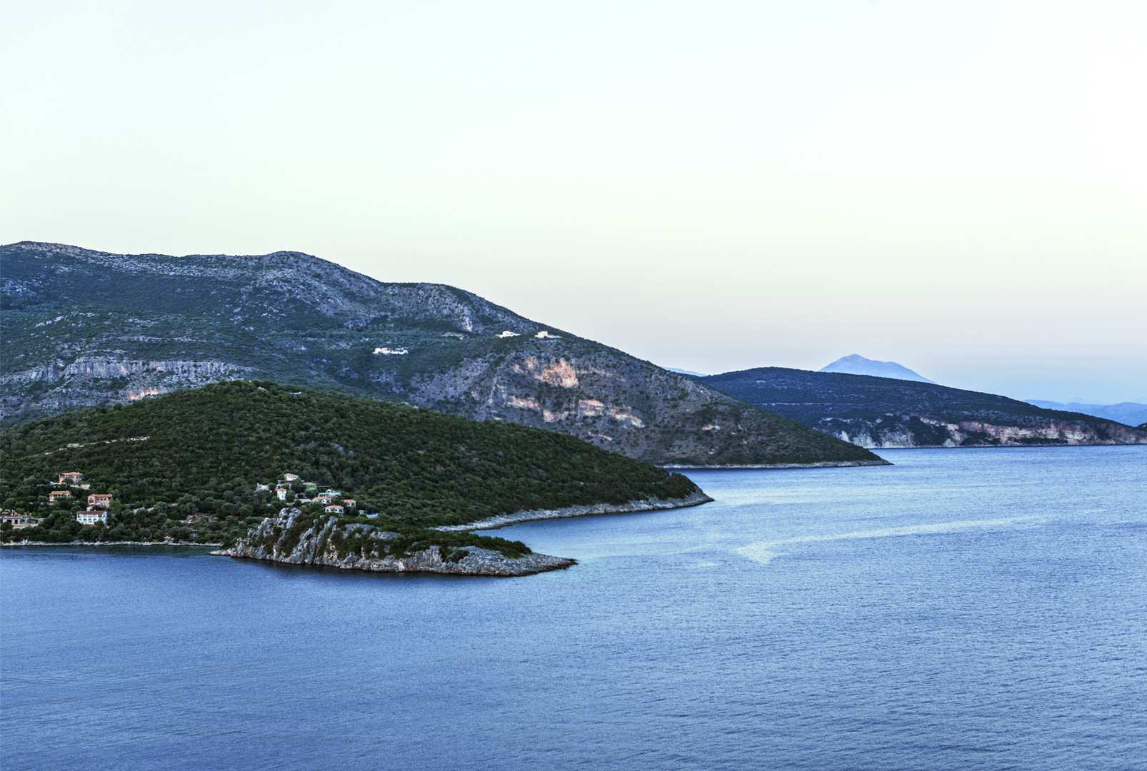 Sivota sea view